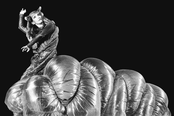 Costume, 1991, inflated