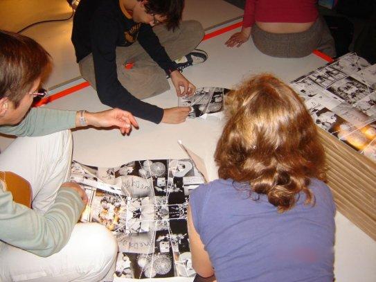 folding, Sint-Lukas, Interieur Kortrijk, 2006