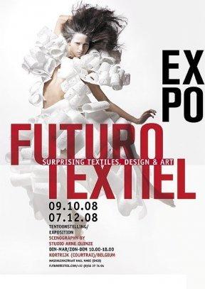 Futurotextiel, Kortrijk, Belgium, 2008, poster