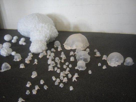 medical plastics, academy Antwerp, 2010