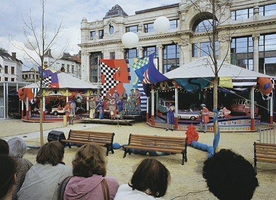 Concert draaimolens,1993, Piet Slangen, Antwerpen '93, Belgium