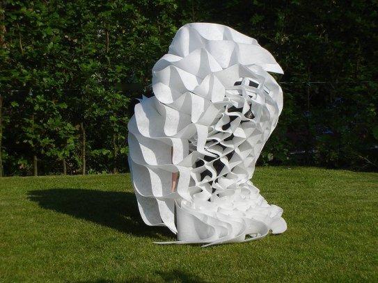 '2D-3D', 2008, Kunst Op Kamers, dansperformance, De Rijp, Nederland