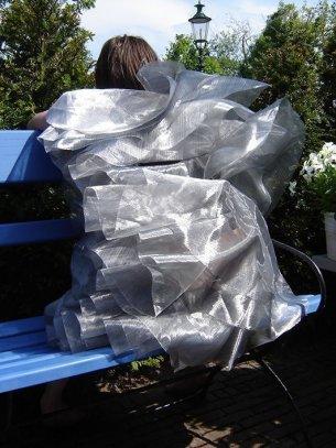 jurk 2D-3D, 2008, polyamide