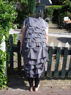 jurk 2D-3D, 2008, lycra