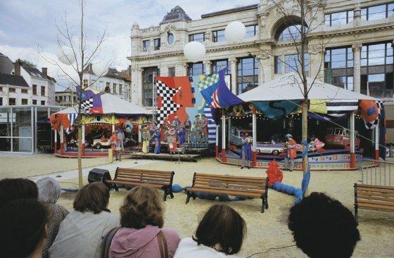 Concert Draaimolens, 1993, Piet Slangen, Antwerpen 93