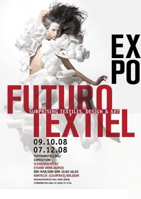 Futurotextiel, Kortrijk, 2008, affiche