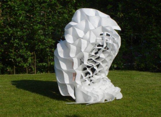 '2D-3D', 2008, Kunst Op Kamers, dansvoorstelling, De Rijp, Nederland